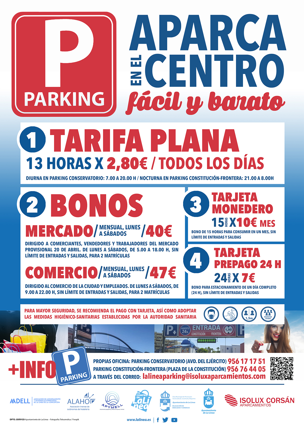 Tarifa plana parking
